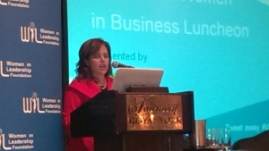 WIL luncheon Rose Gage